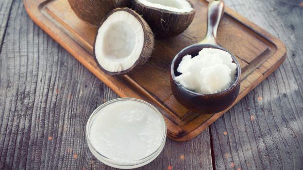 aceite de coco crema